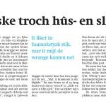 Pers: Recensie Drift Friesch Dagblad